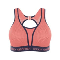 Shock Absorber Ultimate Run Padded Roze Sport BH